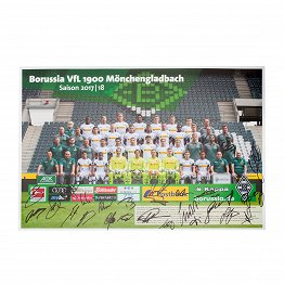 Autographed Poster 17/18
