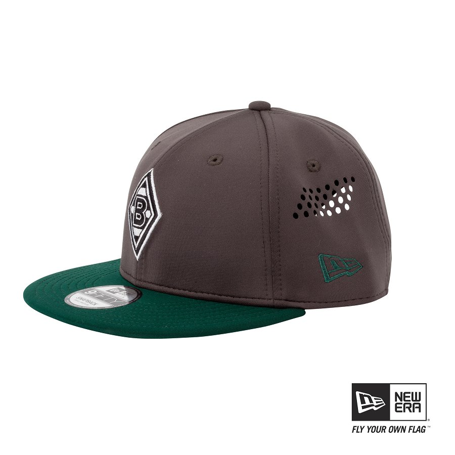 Borussia Mönchengladbach - FohlenShop   Baseball-Cap Snapback grey 9Fifty New  Era   small-medium kaufen 6f0707a380a