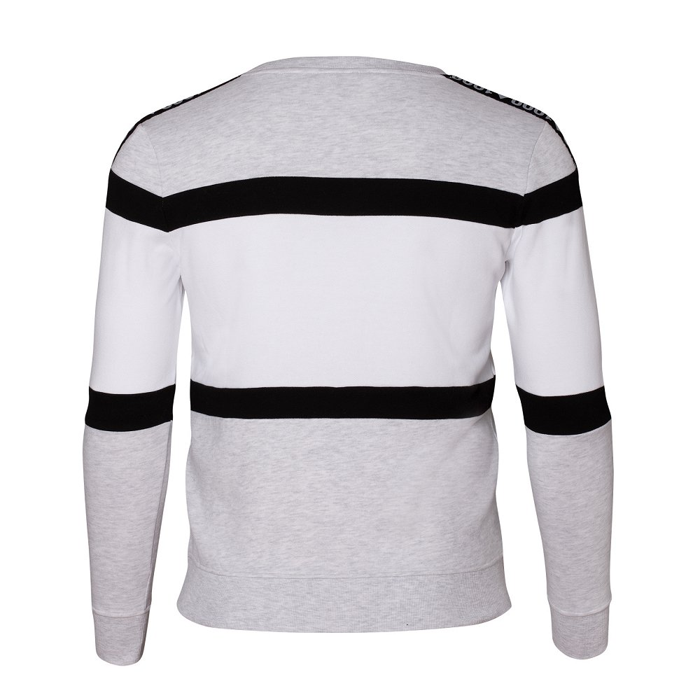 "Herren-Sweater ""Black Stripes"""