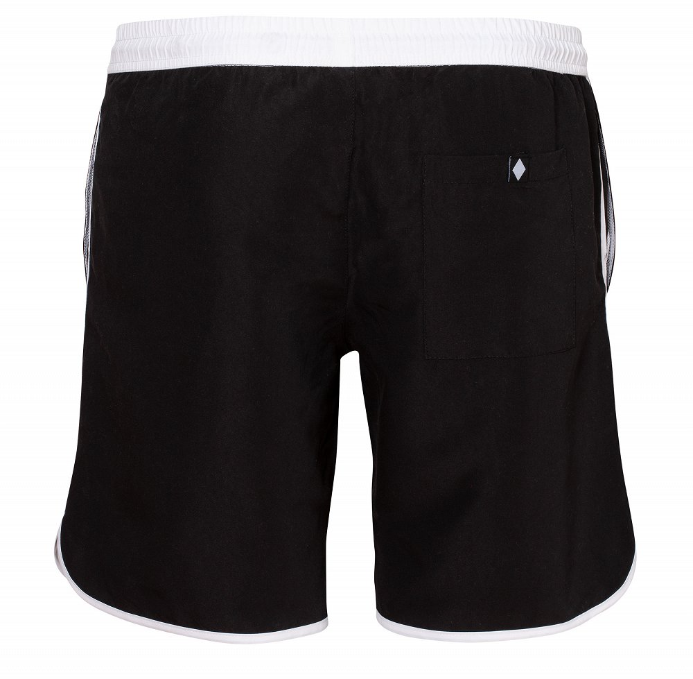 "Swimming Shorts ""Black & White"""