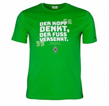 """Shirt """"Der Kopf denkt..."""""""
